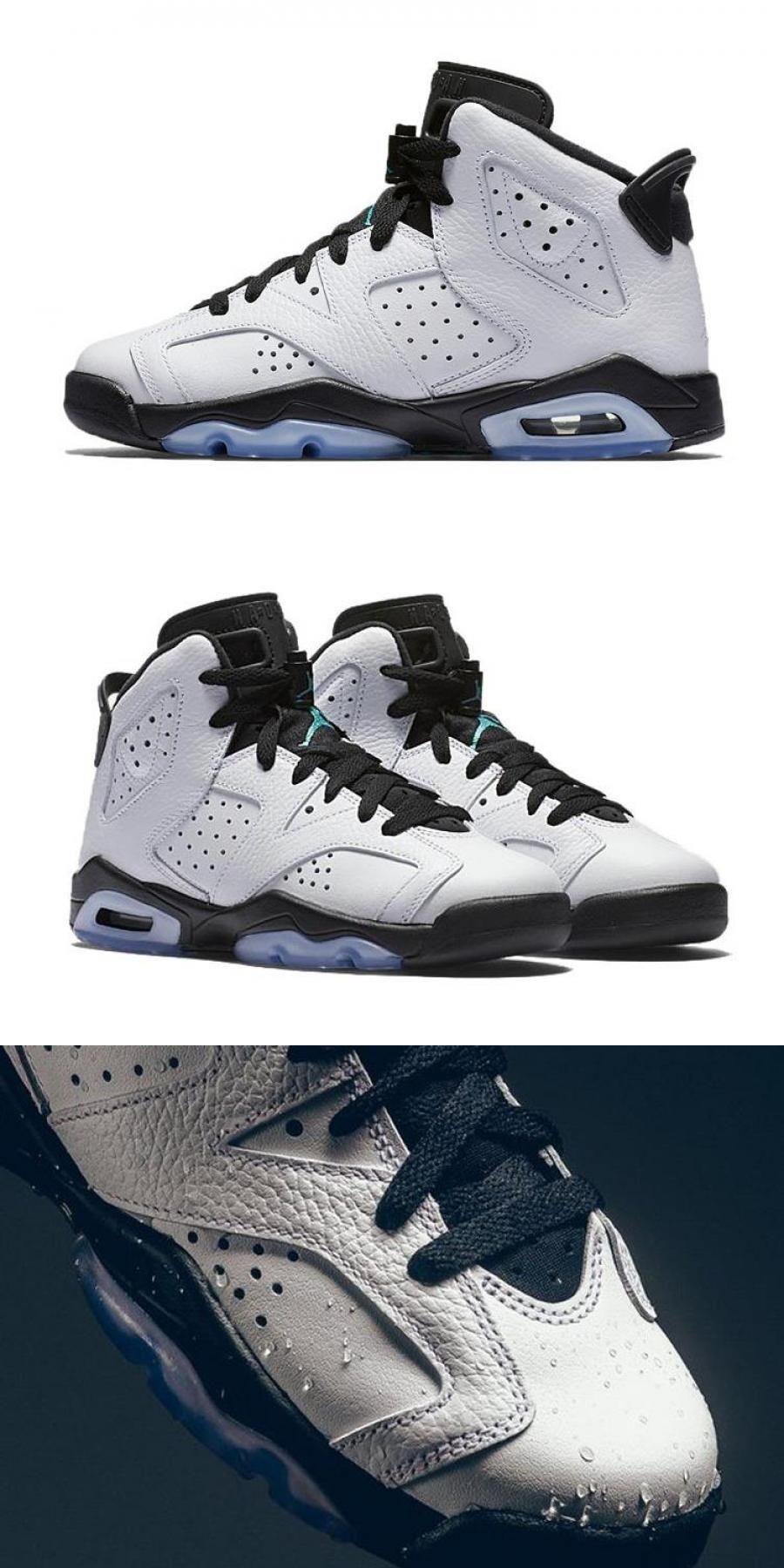 """Air Jordan 6 Gs """"hyper Jade"""" For in 2020 Air jordans"""