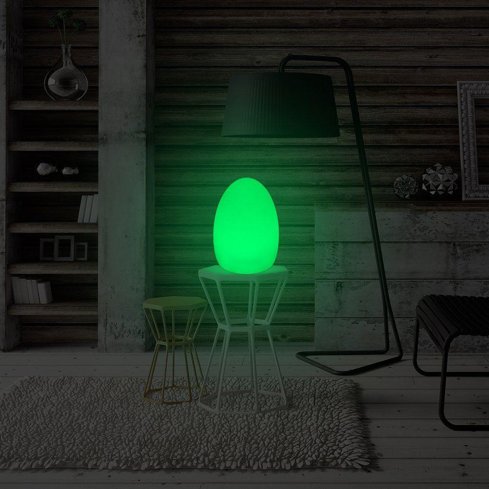 Mr.Go 8inch LED Egg Light Nightlight Mood Lighting Lamp