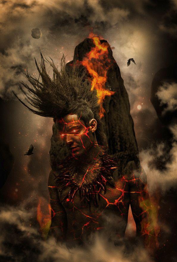 """""""Hephaestus (God of Fire)"""" by Kris682."""
