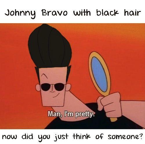 Zayn Anyone Johnny Bravo Old School Cartoons Johny Bravo