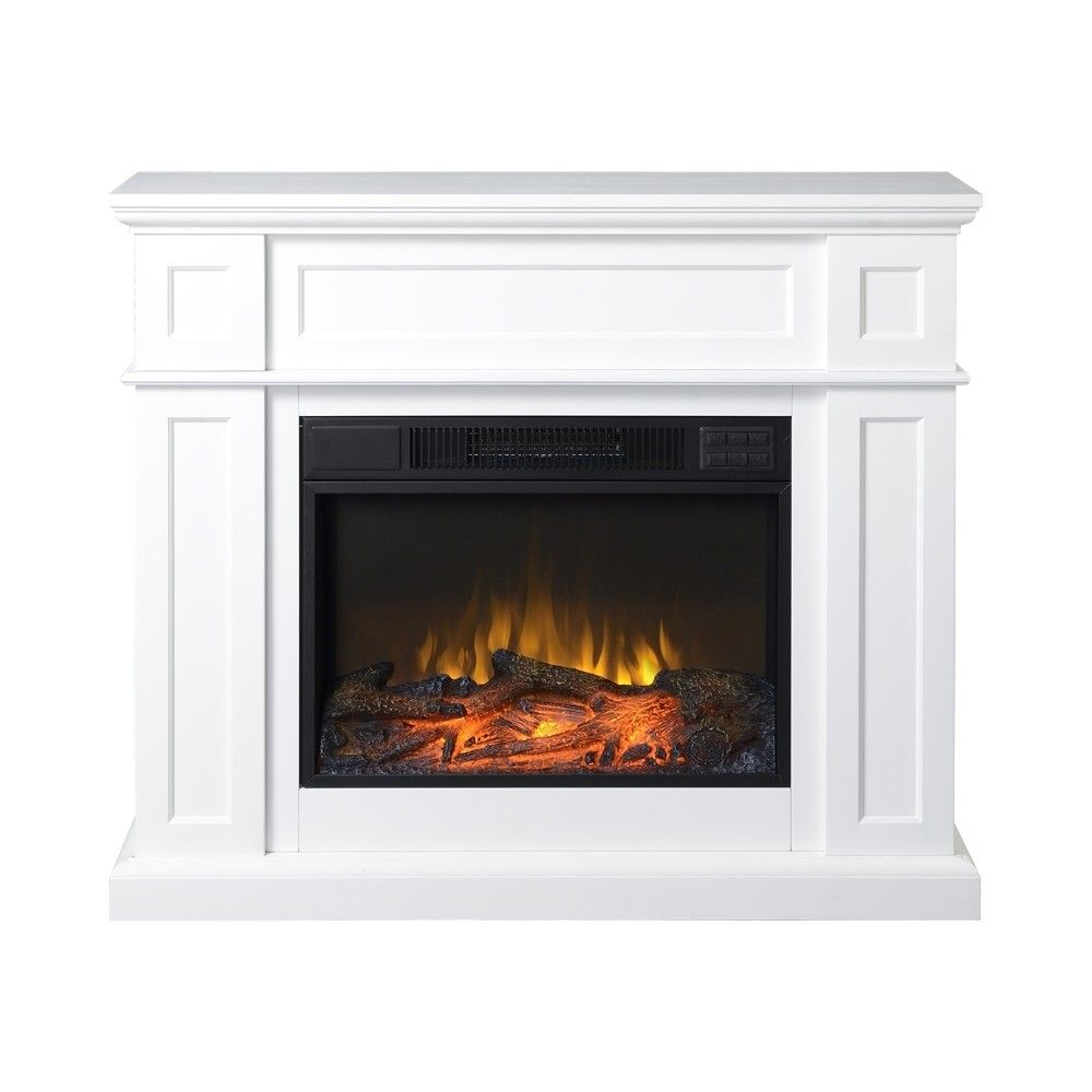 15+ White electric fireplace with mantel information