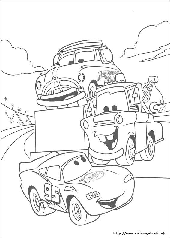 Cars Coloring Picture Cartoon Coloring Pages Disney Coloring Pages Coloring Pages For Boys