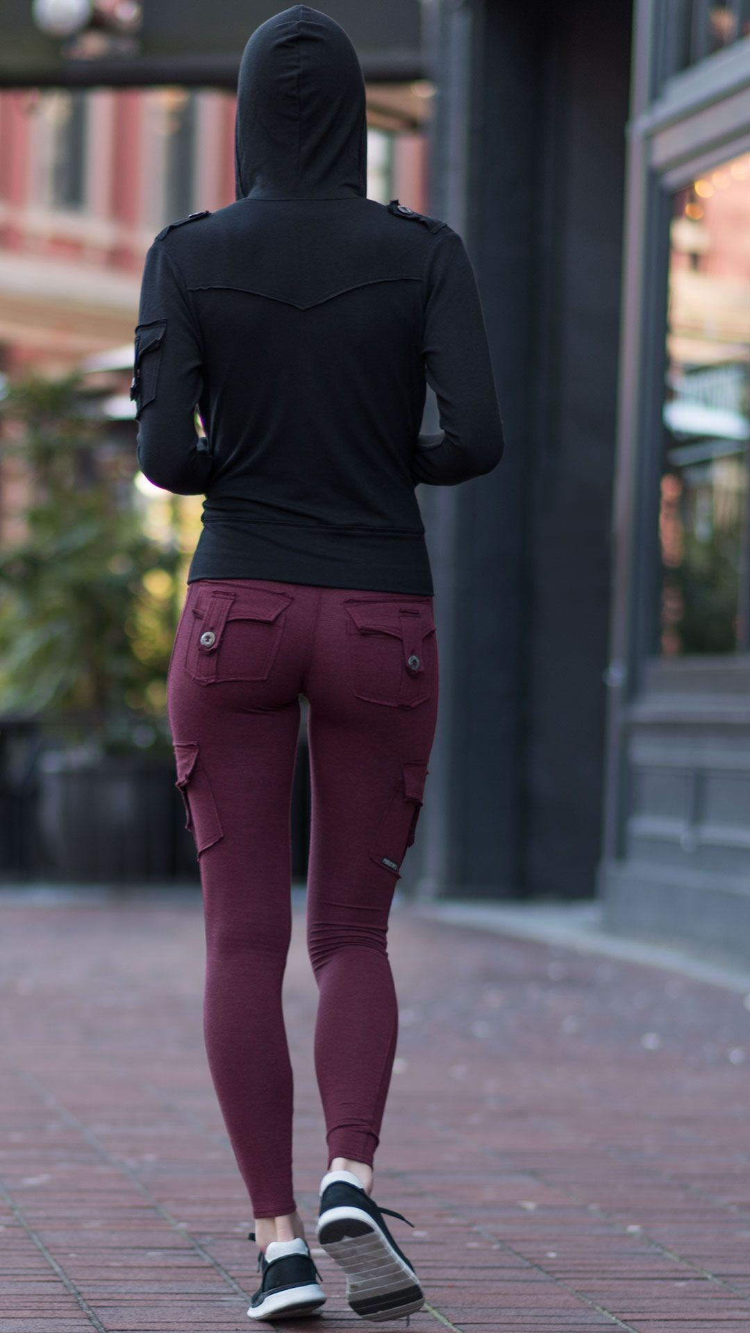 52cd5fb88fca3 Pictured here is our best-seller, the Bamboo Pocket Leggings, paired with  our Bamboo Pocket Hoodie. Bamboo is a natural eco-friendly fabric that is  odour ...