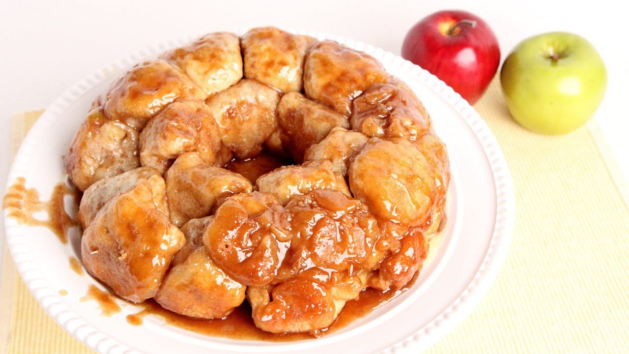 Laura In The Kitchen Recipes | Caramel Apple Monkey Bread Recipe Laura Vitale Laura In The
