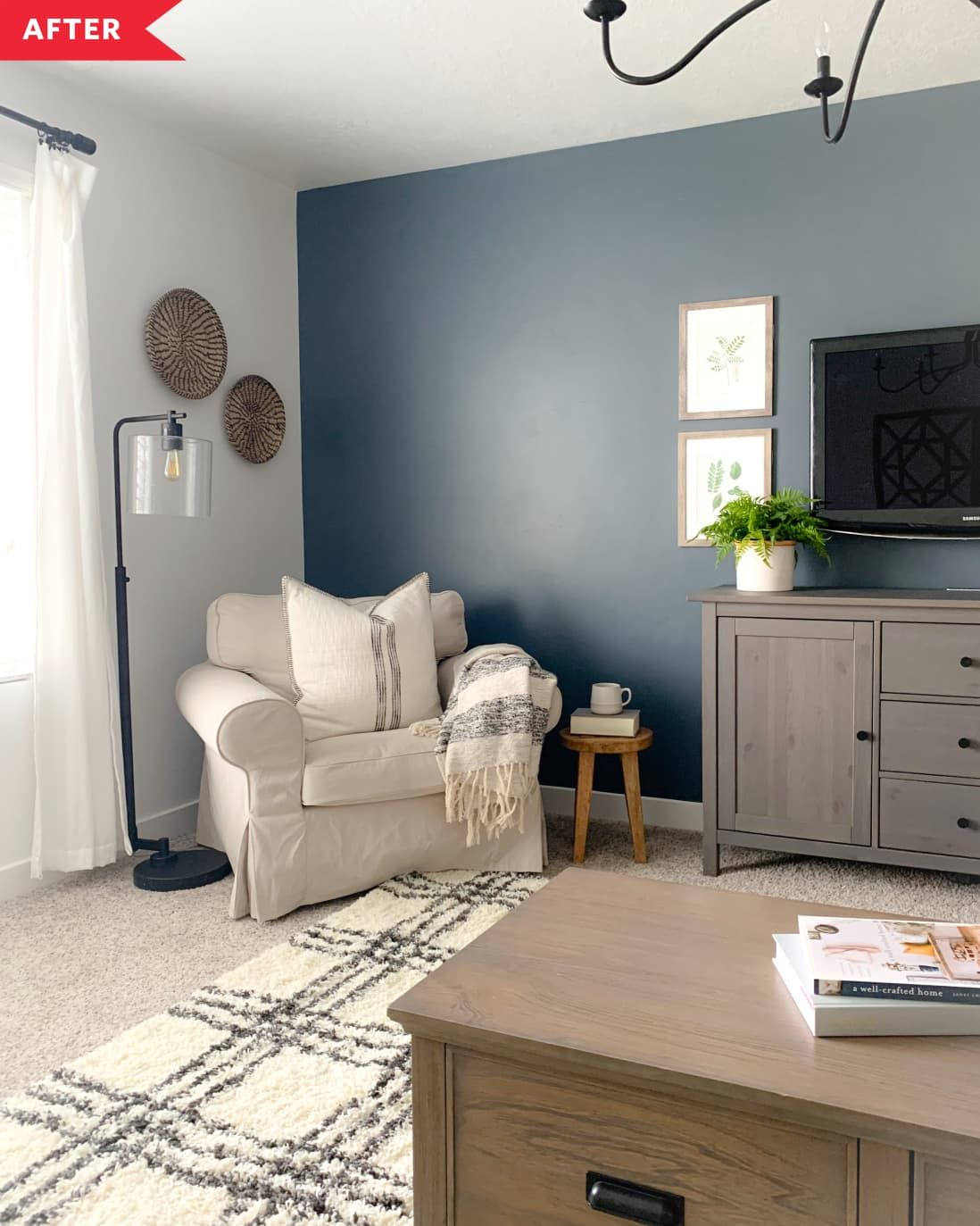 Before and After: This $350 Living Room Refresh Shows the Power of Small Tweaks