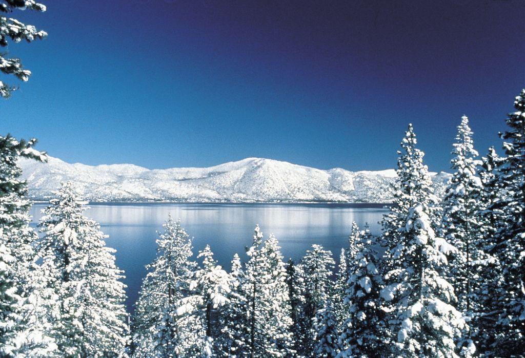 Lake Tahoe Scenic Vista Lake Tahoe Snow Tahoe Snow Tahoe Winter