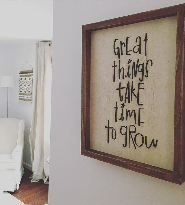 """3,501 Likes, 27 Comments - The Bump (@thebump) on Instagram: """"This sign is the perfect addition to any nursery! Click the link in our bio for our 2017…"""""""