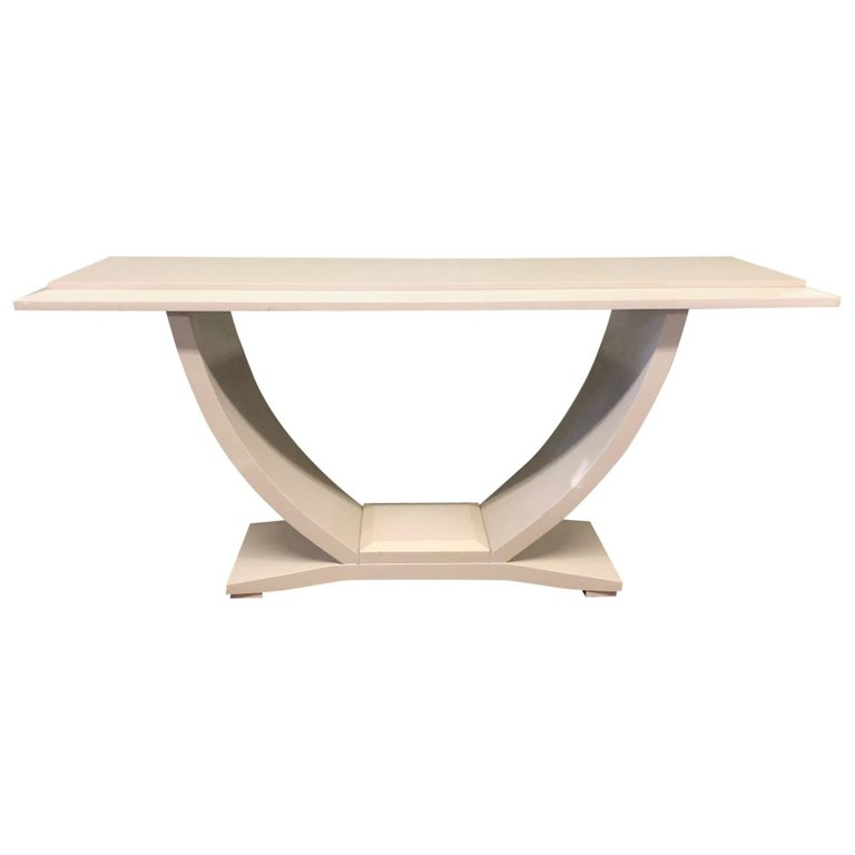 Drexel Heritage Lacquered Console Table Console Table Modern