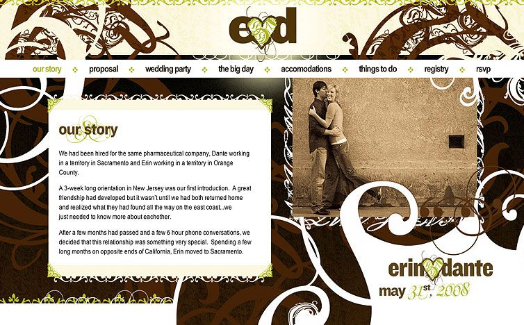 Website With Ideas For What To Include On Your Wedding
