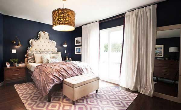 100 fotos e ideas para pintar y decorar dormitorios cuartos o habitaciones modernas ideas - Ideas para pintar habitaciones ...