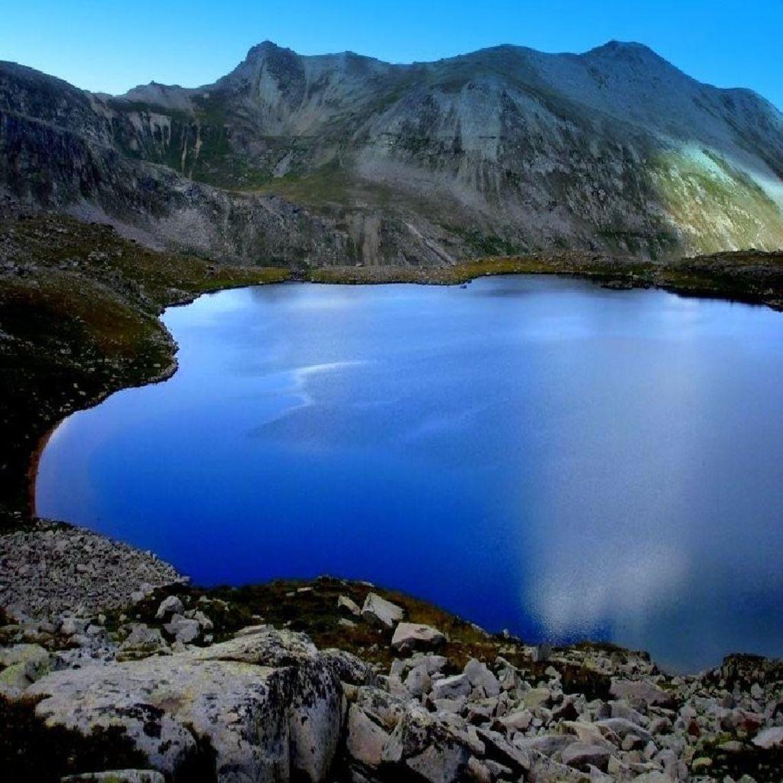 ice lake kachgar mountains
