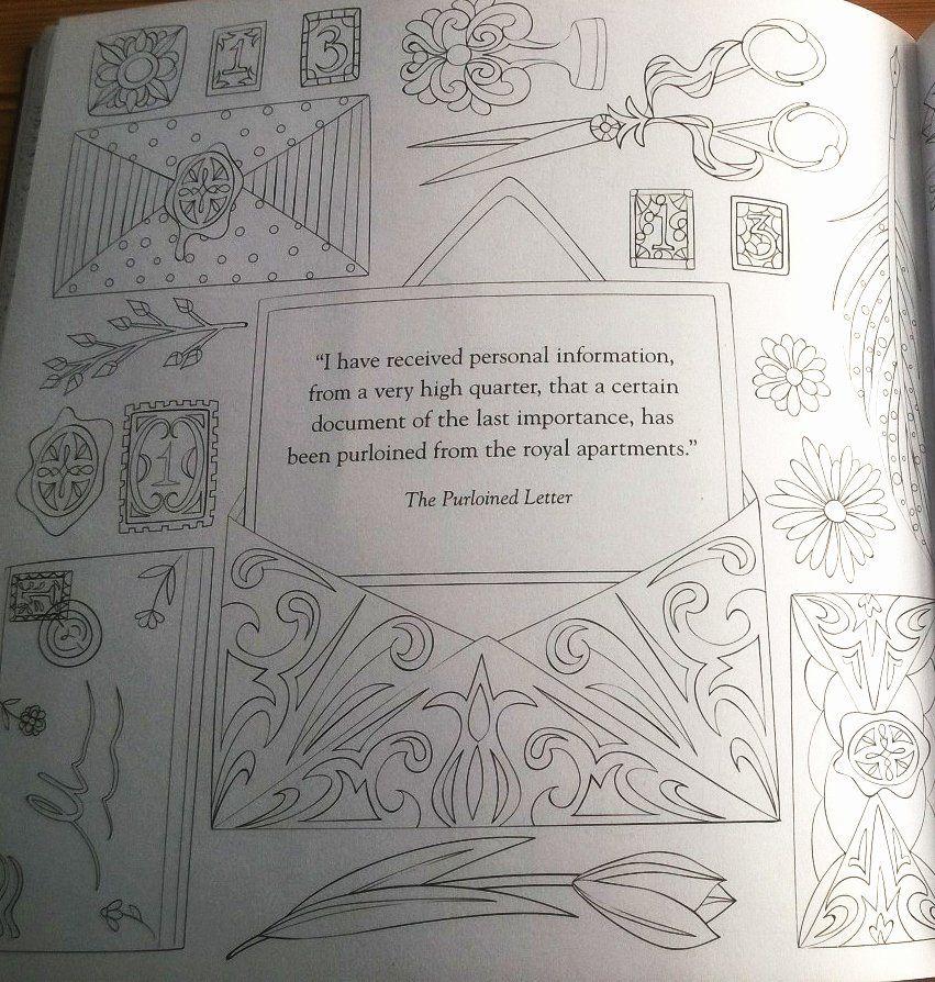 Adult Coloring Pages Edgar Allen Poe - Workberdubeat Coloring