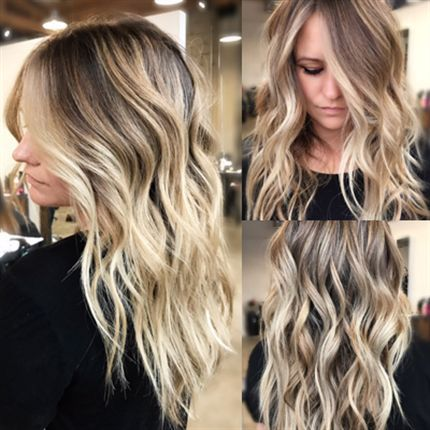 Balayage and babylights are a match made in hair heaven. Add an on,trend  shadow root into the mix and you\u0026 got contoured perfection.