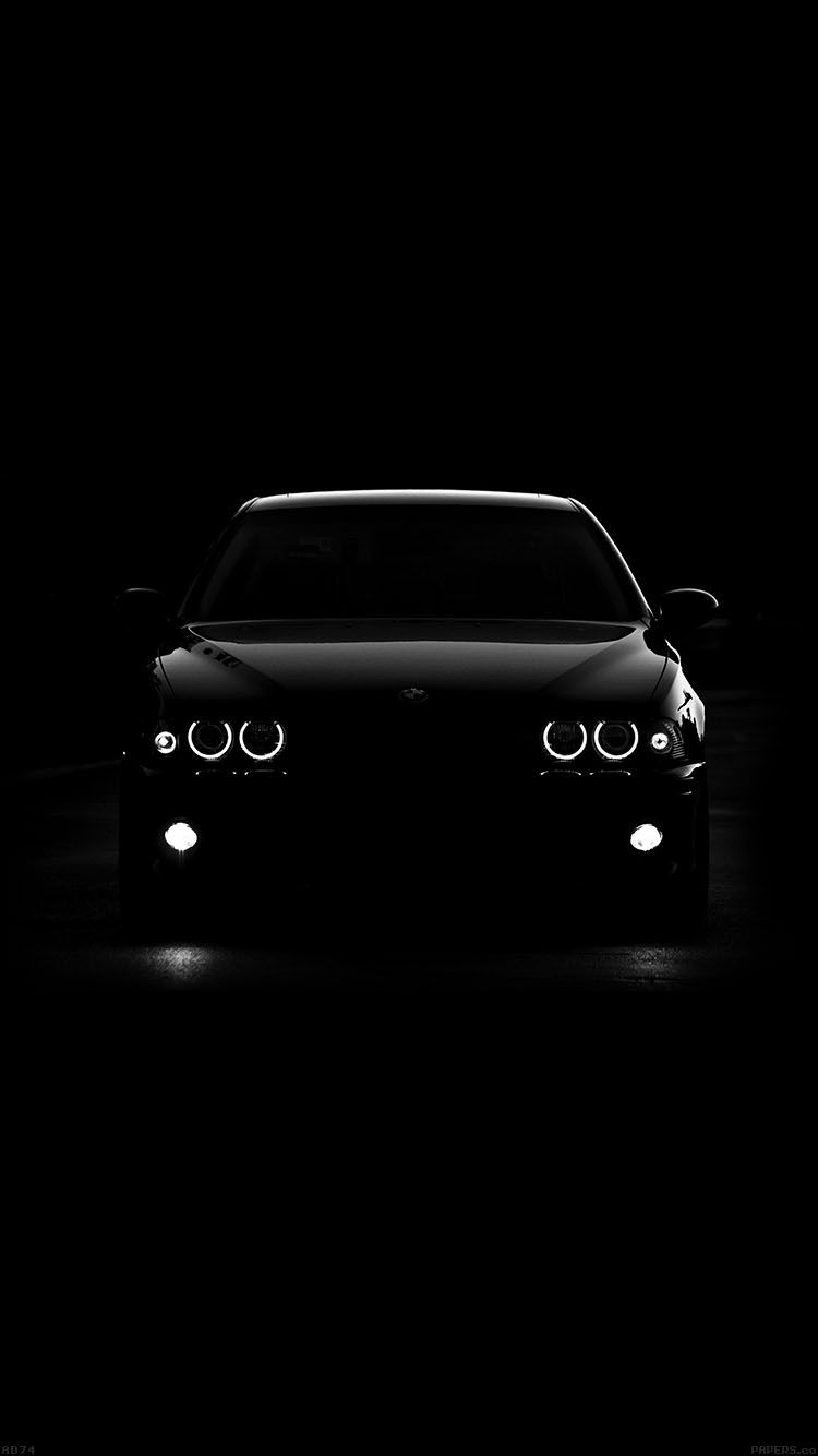 Bmw car black light wallpaper hd iphone pƦ3rs