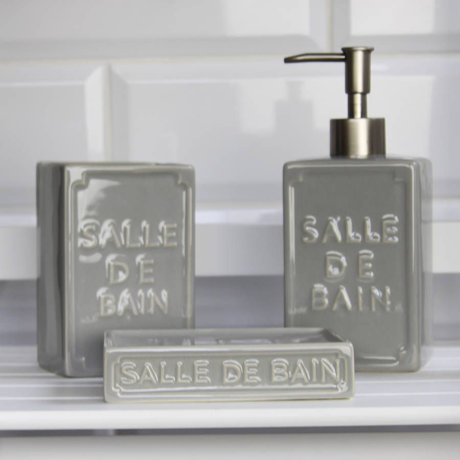 Salle De Bain Rose Et Blanc ~ Salle De Bain Bathroom Accessories My Web Value