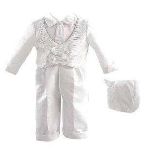 d109fb4f4a70 Lauren Madison baby boy Christening Baptism Special occasion Infant ...