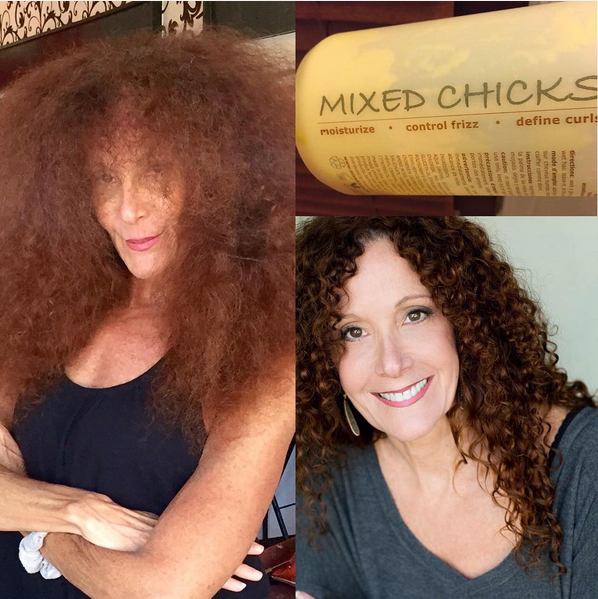 Mixed Chicks Leave In Conditioner Curly Hair Styles Curly
