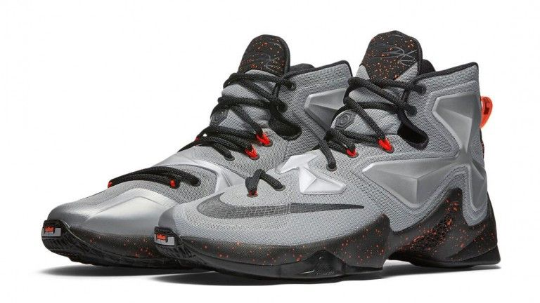 e3f9630edb5 Nike LeBron 13 Color Metallic Silver Energy-Hyper Jade-Black Style Code  807219-003 Release Date March 9
