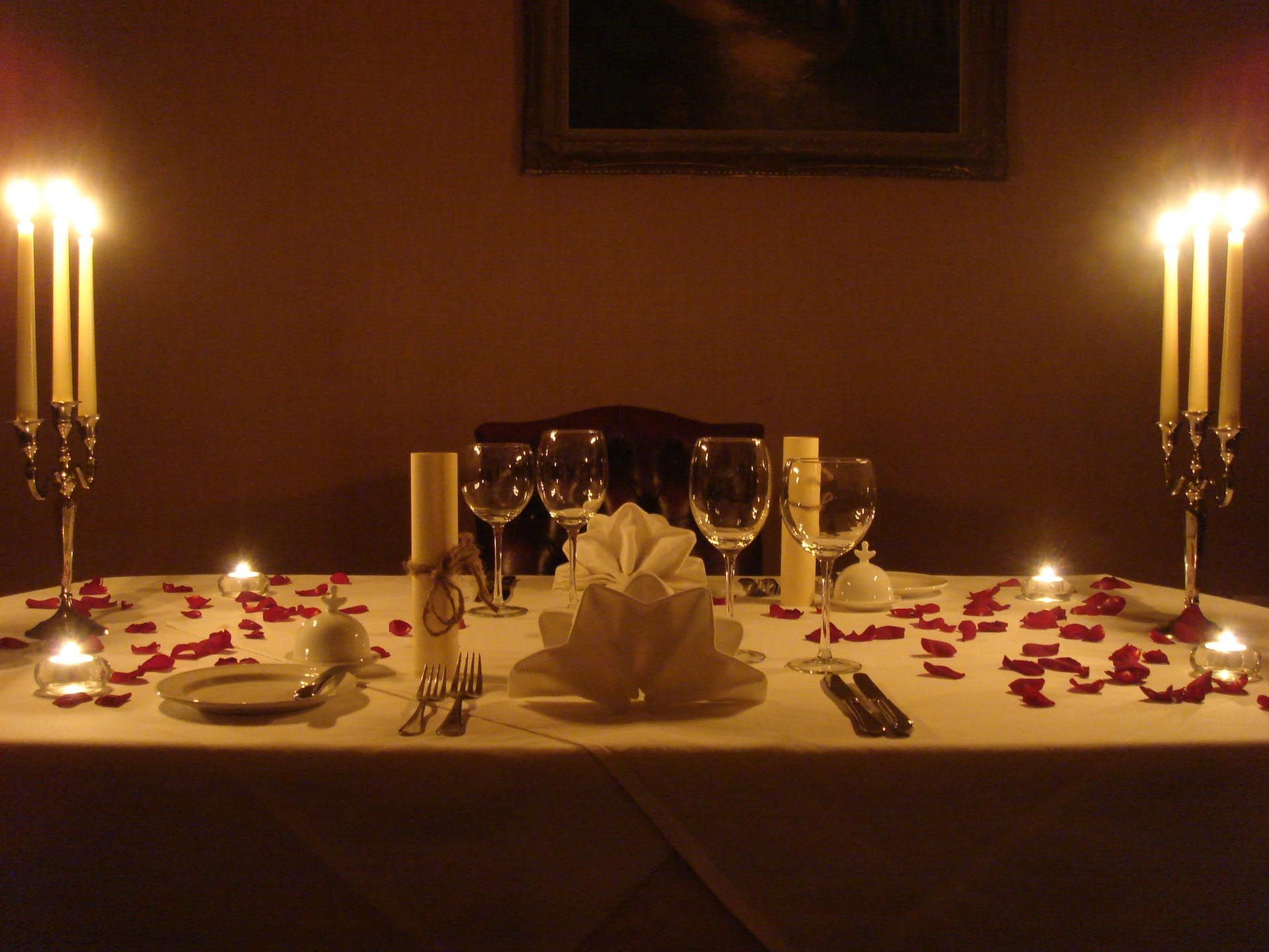 Candle light dinner table for two - Romantic Candles A Romantic Romantic Candle Light Dinner Candle Light Dinners Romantic Dinners Dinner Table