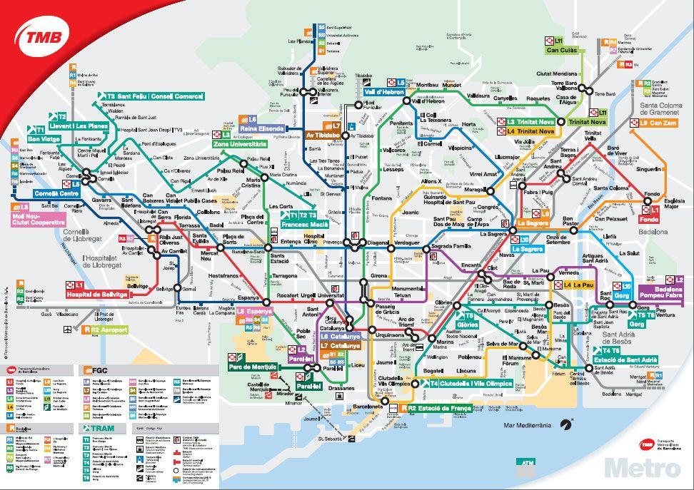 Metro Barcelona Metrokaart Prijzen En Meer Barcelona Met Marta Barcelona Barcelona Spanje Spanje Reizen