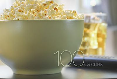 Air-popped popcorn (in popcorn tupperware bowl). Try topping with parmesan.