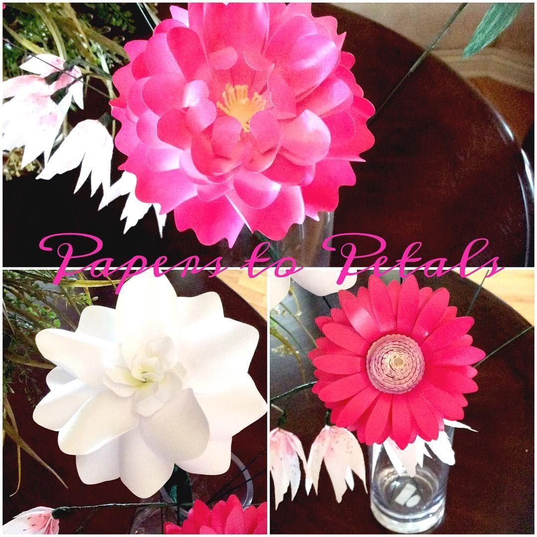 Paper Flower Centerpieces Pinterest Vaydileforic