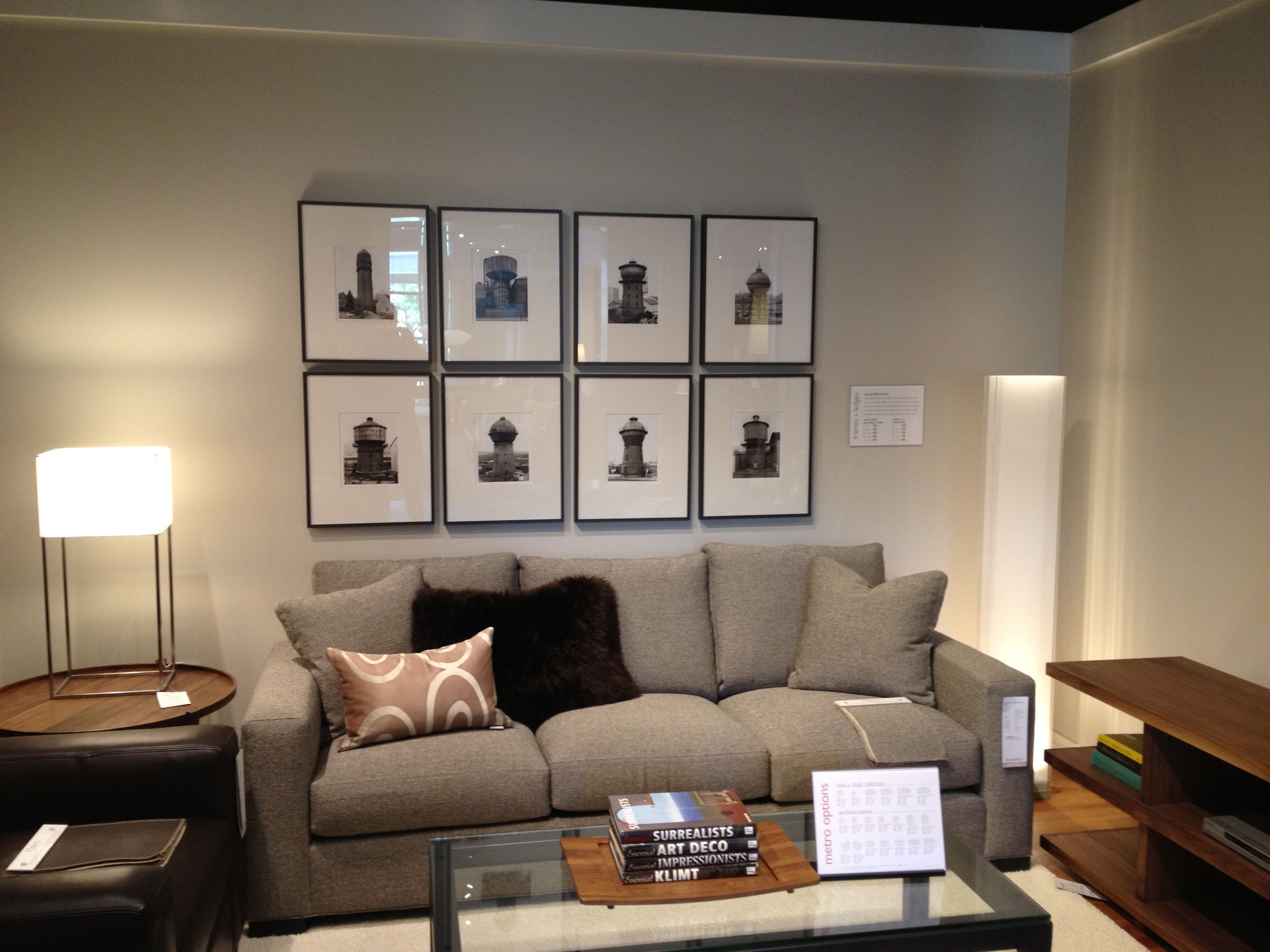 Picture frames Room and Board Living Room Dining Room