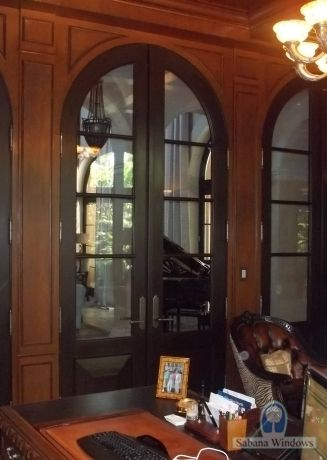 Arched French Doors Interior Fairman Arched French Door Exterior