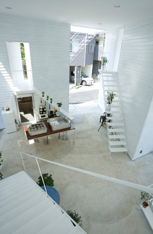 Inside out house by Onedesign.  Japan, var annars...