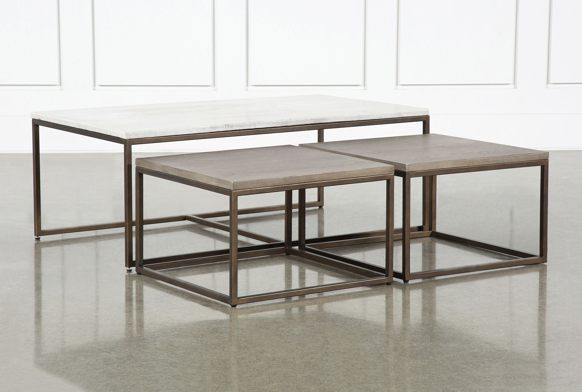 Pavilion Nesting Coffee Tables By Nate Berkus And Jeremiah Brent Coffee Table Nesting Coffee Tables Small Coffee Table [ 1288 x 1911 Pixel ]