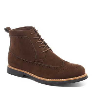 Brown Zion Ankle Boot #zulily #zulilyfinds