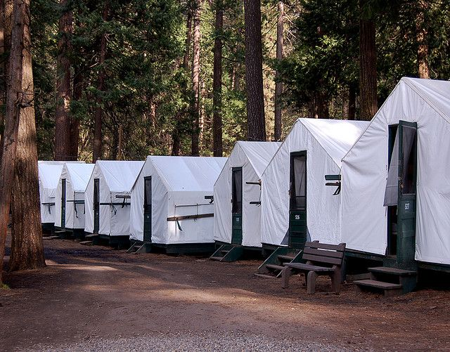 Curry Village Tent Cabins- Yosemite California & Curry Village Tent Cabins Yosemite | Yosemite california Park and ...