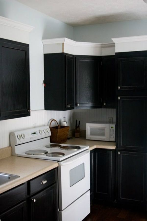 Love this how-to on updating your builder-grade kitchen ...