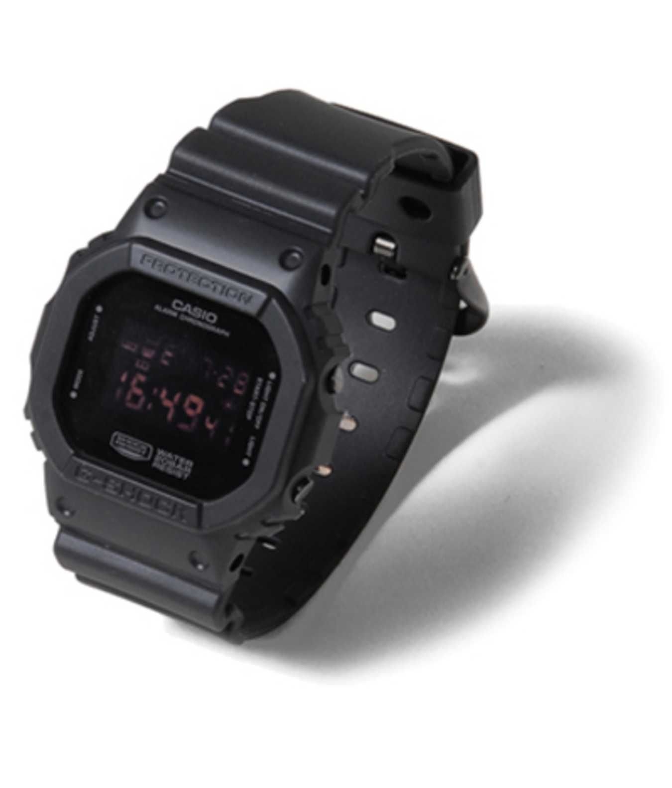 Casio G Shock X Urban Research Dw 5600 Gshock Black Display