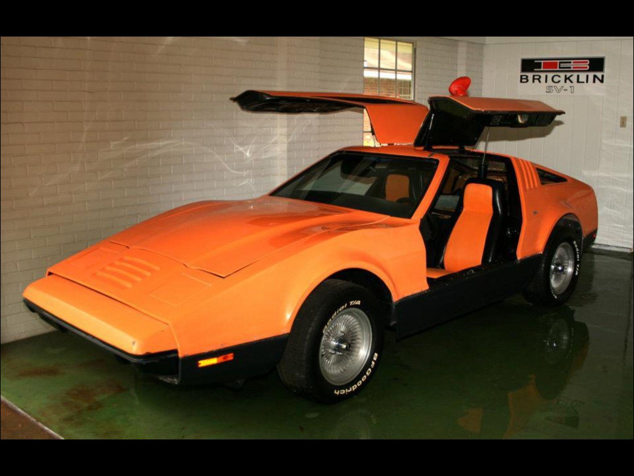 1975 bricklin sv1 bricklin unique cars classic cars