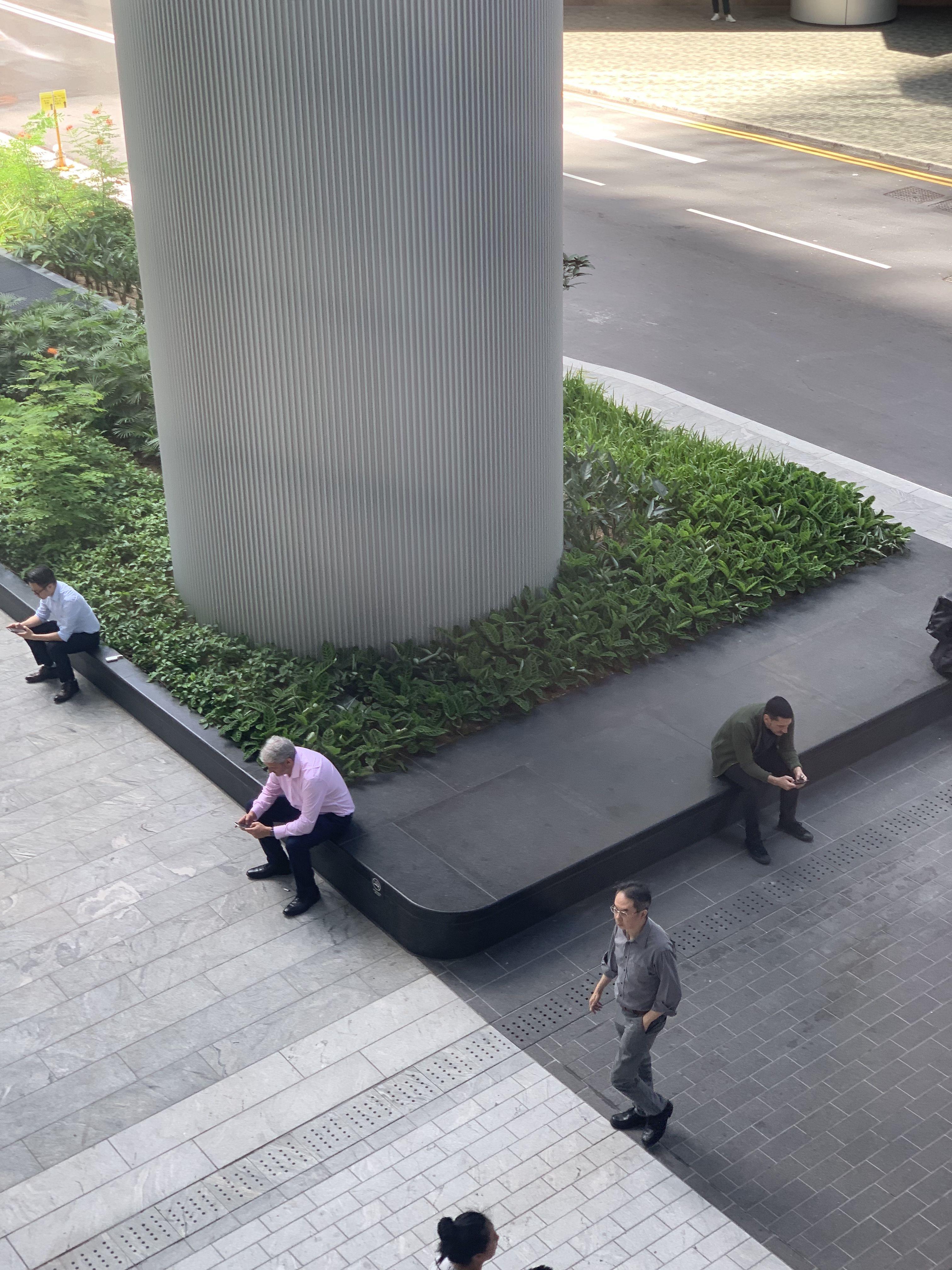 Hong Kong Taikoo Place Daniel Haywood Roof Garden La Furniture Landscape Architecture