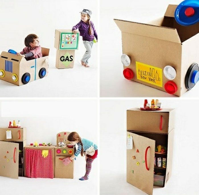 Le coffre à jouets – idées décoration chambre enfant – Archzine.fr