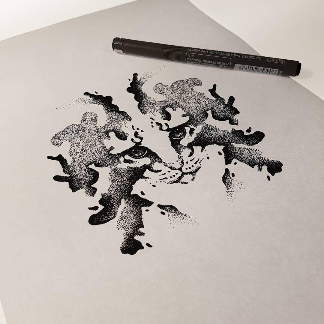 Would love to do this rorschach kitty! Holla at me - viktor_westberg@hotmail.com