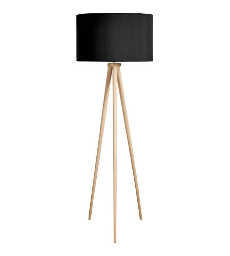 Trepied Stehlampenfuß aus Holz ( ) | Lampe