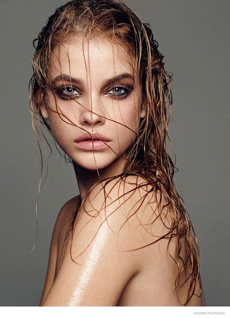 I love every shot in this set... Barbara Palvin Strips Down to Beauty Looks for…