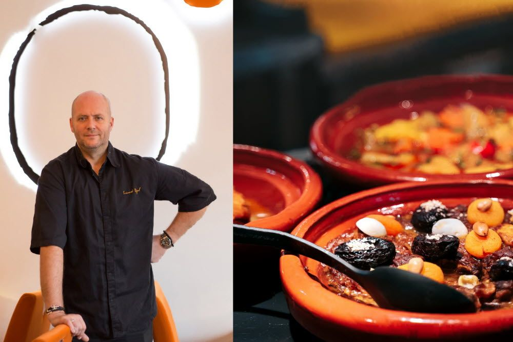 "Photo of Gastronomy and Wines Magazine | Laurent Rigal: ""A tagine of …"