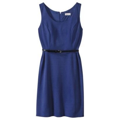 0ba55af1da0 Merona® Petites Sleeveless Fitted Dress - Waterloo Blue