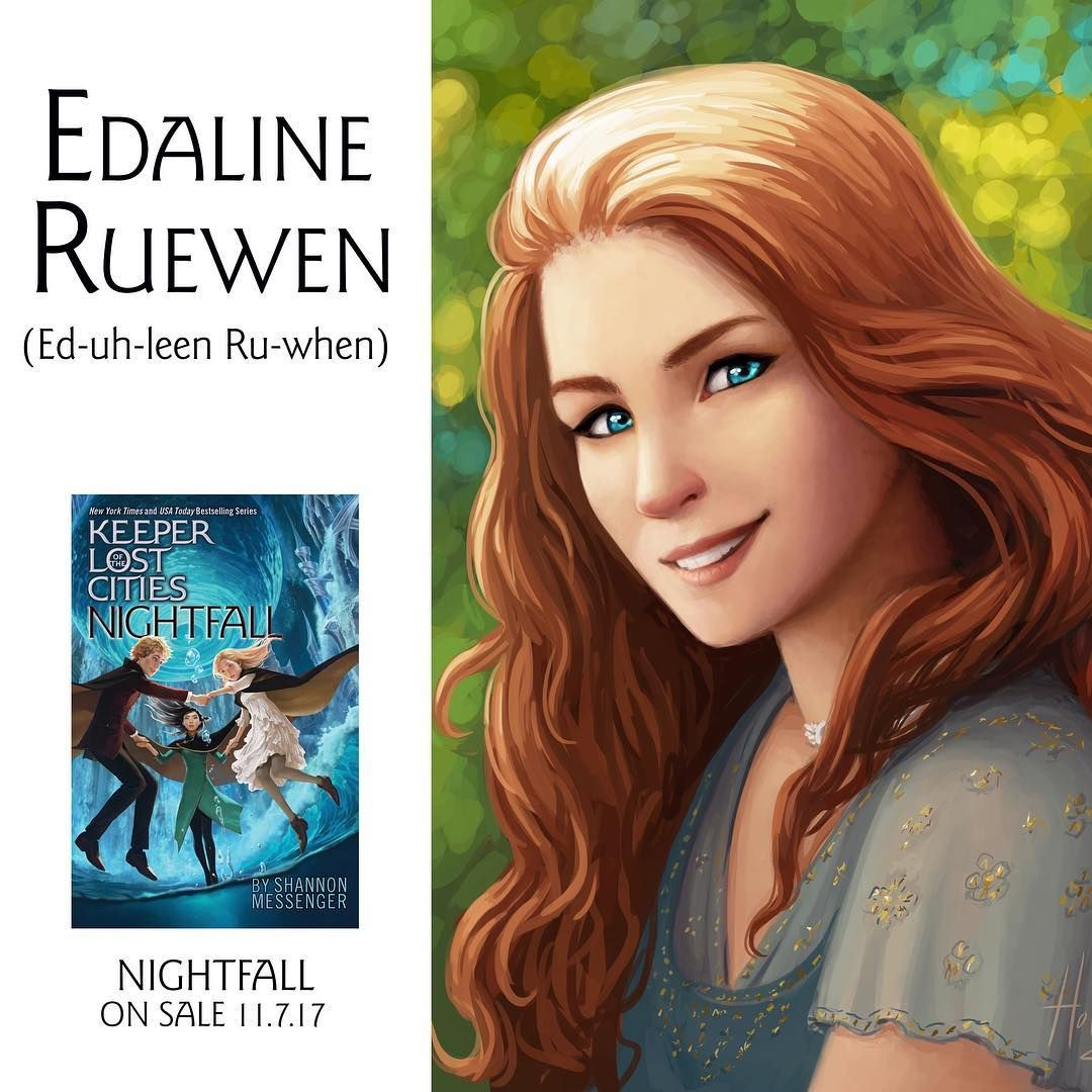 Edaline, drawn by laura.hollingsworth Lost city, City