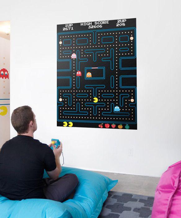 Blik Pac Man Maze Wall Decals