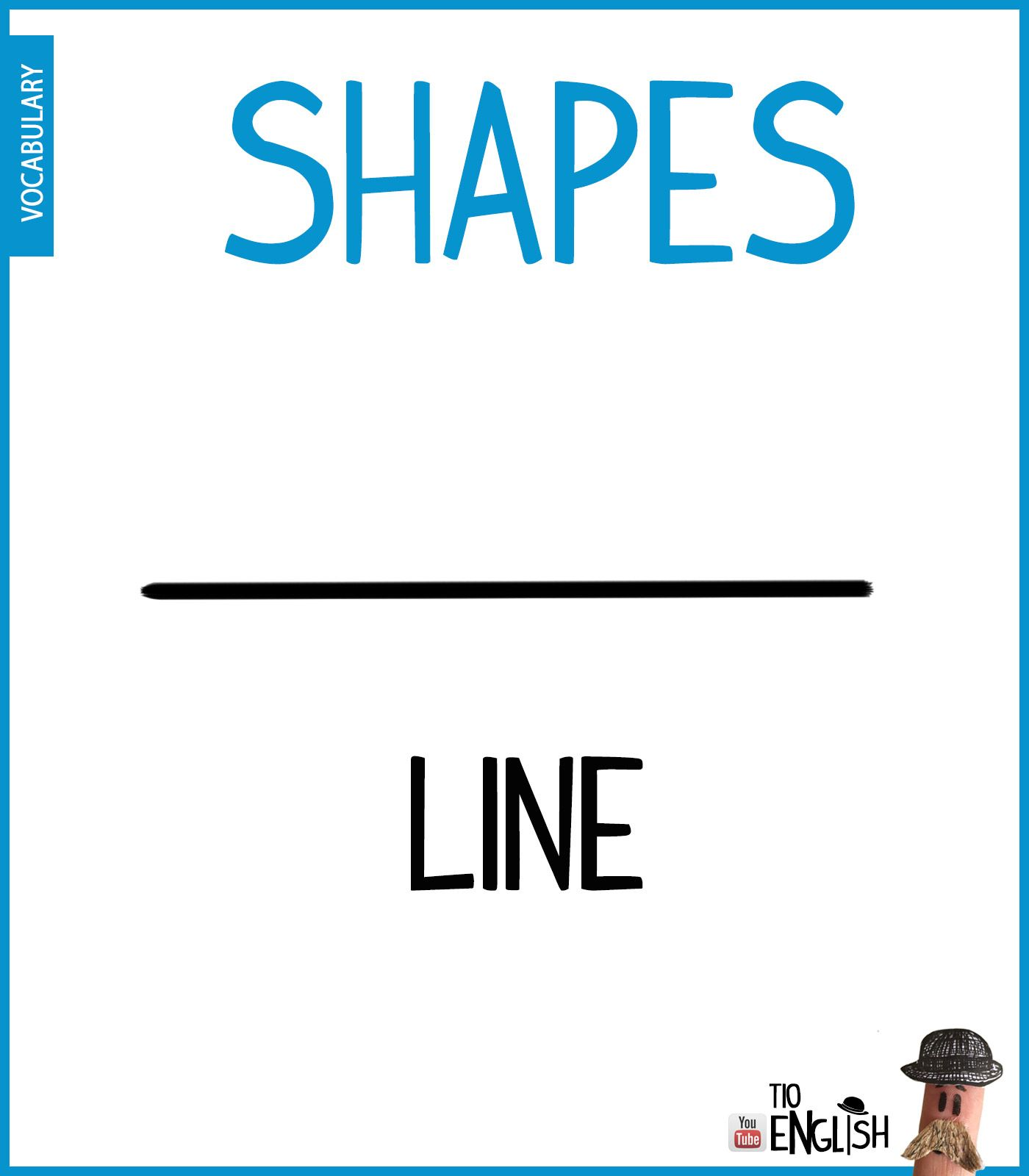 Line Learn Forms In English Shapes English Intermediate