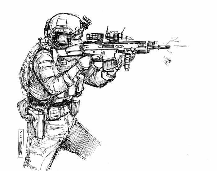 Pingl par pucet sur armee pinterest dessin militaire - Dessin de militaire ...
