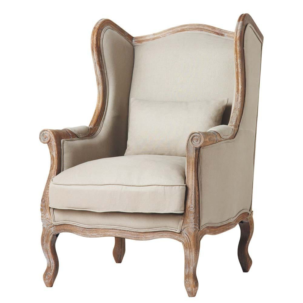 Poltrone Maison Du Monde.Seating In 2019 Winged Armchair Armchair Furniture
