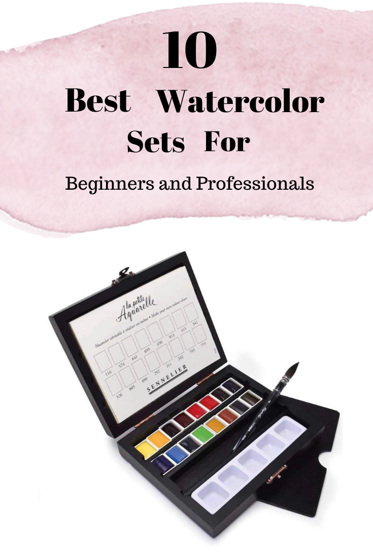 10 Best Watercolor Sets For Beginners And Professionals Watercolors For Beginners Watercolor Set Guide W Watercolor Branding Watercolor Paint Set Watercolor