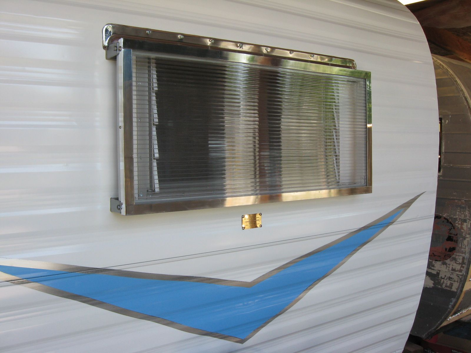 Awesome Clear Window Rock Guard Vintage Trailers