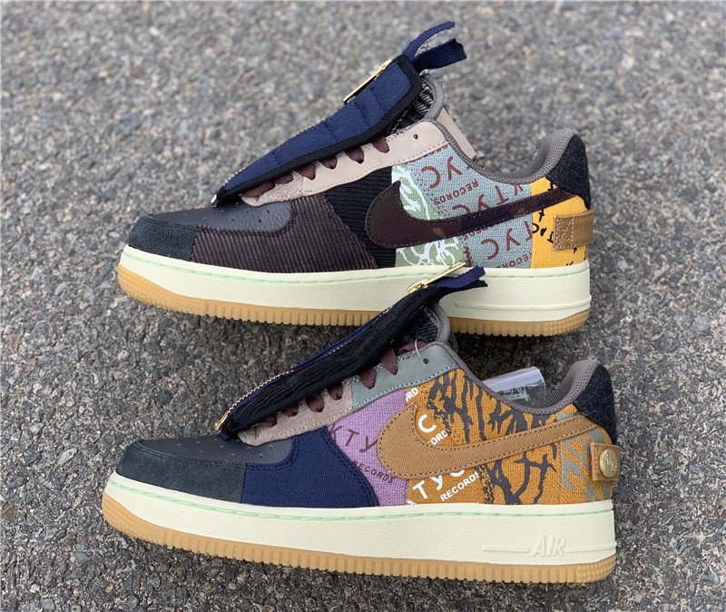 pronóstico Enfermedad infecciosa desagüe  Travis Scott x Nike Air Force 1 Low Cactus Jack CN2405-900-KicksVogue | Travis  scott shoes, Shoes, Hype shoes
